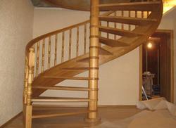 Установка винтовой лестницы