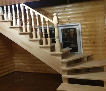 Лестница в д. Бунчиха.