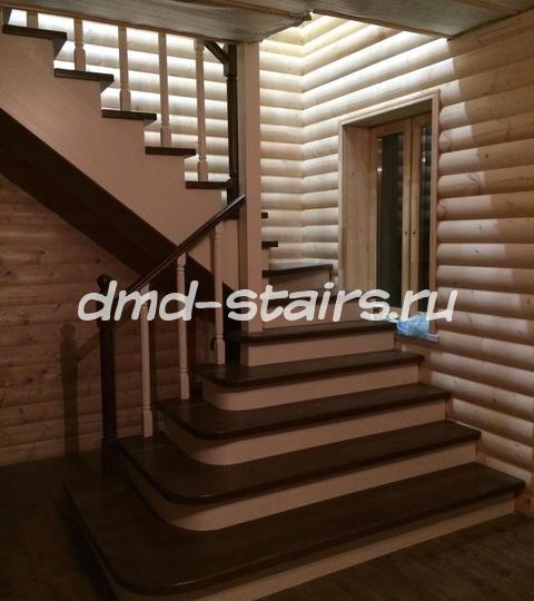 Лестница в г. Климовске.