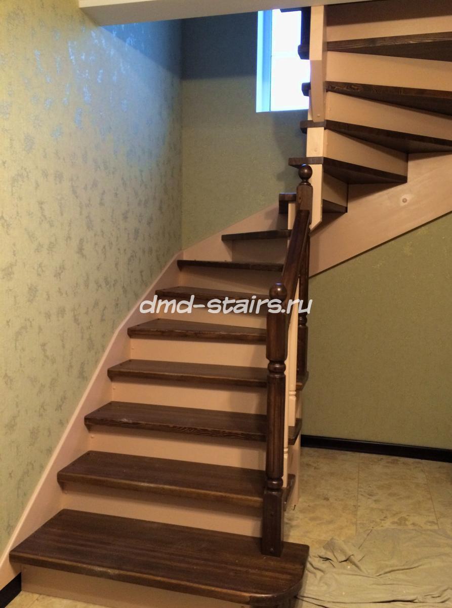 П образные деревянные лестницы