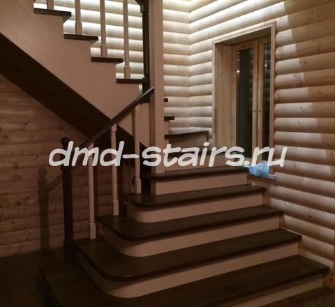 Лестницы деревянные Г образные