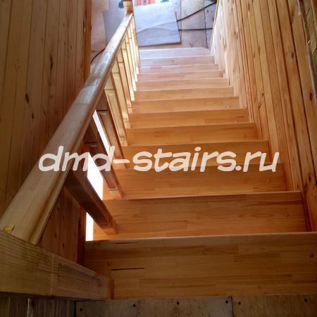 Прямая одномаршевая лестница